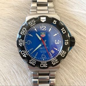 Stainless steel Tag Heuer Formula 1 men's watch
